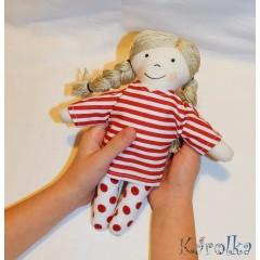 Textilná bábika Tinka