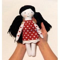 textilná bábika Jahôdka