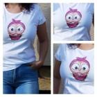 Dámske tričko - OčiPuči Cukrová Kaika