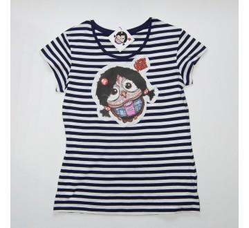 Dámske tričko - OčiPuči Metal Lady Patty