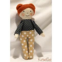 Textilná bábika Alinka