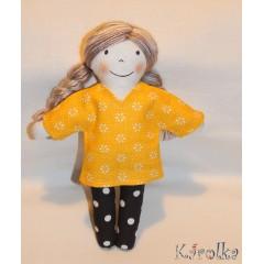 Textilná bábika Kamilka