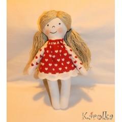 Textilná bábika Jahôdka♥