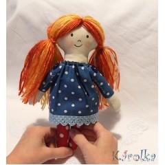 Textilná bábika Líška Eliška