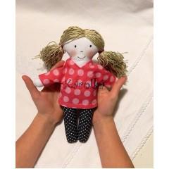 Textilná bábika Olívia