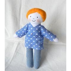 Textilná bábika Kubko