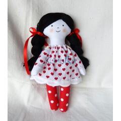 Textilná bábika Anička