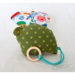 Hračka - hrkálka - hryzátko - Veselá myška n.2