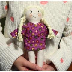 Textilná bábika Bibi
