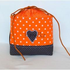 Košík / taška na bicykel - BikeBag Pomaranč
