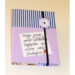 Zápisník -  Pre pani učiteľku  :)