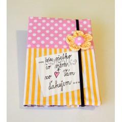 Zápisník -  Pre pani učiteľku  ♥