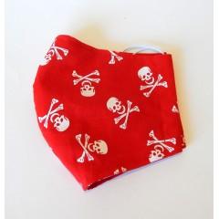 Bavlnené rúško - Pirát