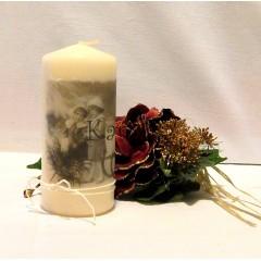 Vianočná sviečka - Romantické vianoce