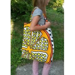 Nákupná taška - Pomaranč