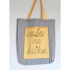 Nákupná taška - Na háčku