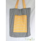 Nákupná taška - pásikavá
