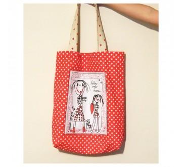 Nákupná taška - Ľúbim svoju mamu