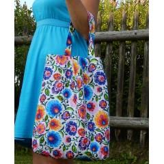 Nákupná taška - Babičkina záhrada n-4