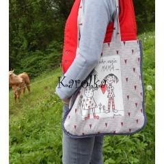 Nákupná taška - Ako Moja Mama ♥