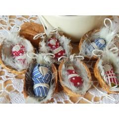 Vianočná dekorácia - Oriešok - Búvaj dieťa krásne