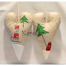 Vianočné srdce - MAXI Vianoce ♥